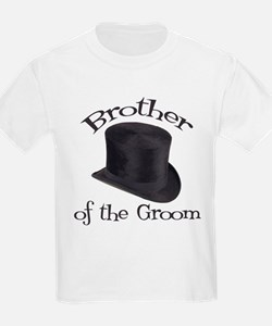 Top Hat Groom's Brother T-Shirt
