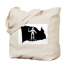 Black Bart Roberts Pirate Tote Bag