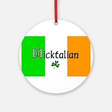 Micktalian Ornament (Round)