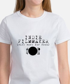 Filmmaker - will work for food! Tee