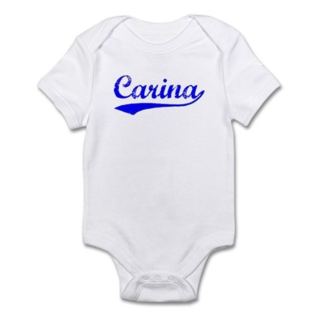 Vintage Carina (Blue) Infant Bodysuit
