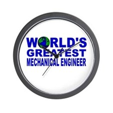 World;s Greatest Mechanical E Wall Clock