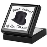 Top Hat Groom's Best Friend Keepsake Box