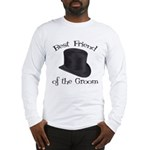 Top Hat Groom's Best Friend Long Sleeve T-Shirt