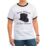 Top Hat Groom's Best Friend Ringer T