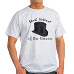 Top Hat Groom's Best Friend Light T-Shirt