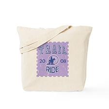 Distressed Trail ride 2008 Tote Bag