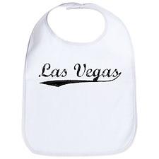 Vintage Las Vegas (Black) Bib