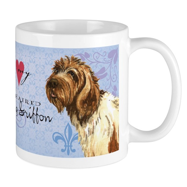 Wirehaired Pointing Griffon Mug by dogsink