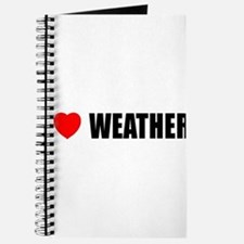 I Love Weather Journal