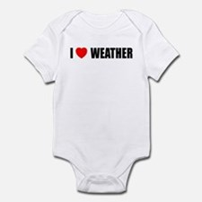 I Love Weather Infant Bodysuit