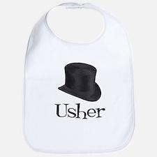Top Hat Usher Bib