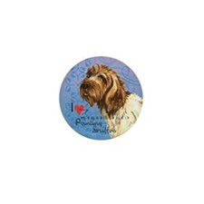 Wirehaired Pointing Griffon Mini Button