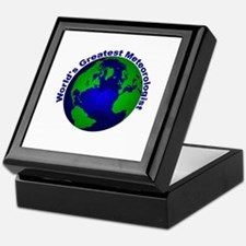 World's Greatest Meteorologis Keepsake Box