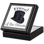 Top Hat Groom's Friend Keepsake Box