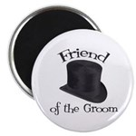Top Hat Groom's Friend Magnet