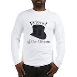 Top Hat Groom's Friend Long Sleeve T-Shirt