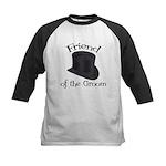 Top Hat Groom's Friend Kids Baseball Jersey