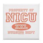 Property Of NICU Nurse Tile Coaster