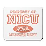 Property Of NICU Nurse Mousepad