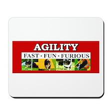 Agility-Fast,Fun,Furious Mousepad
