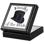 Top Hat Bride's Family Keepsake Box