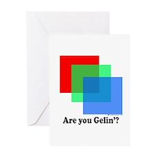 Are You Gellin? Greeting Card