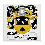 Grossman Family Crest Tile Coaster