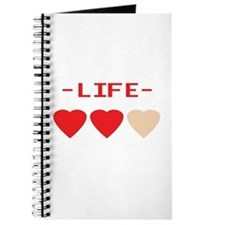 LIFE (hearts) - Journal