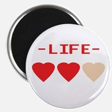 LIFE (hearts) - Magnet
