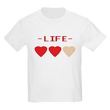 LIFE (hearts) - Kids T-Shirt
