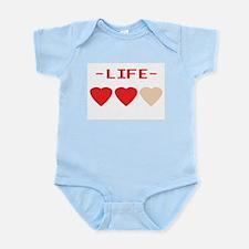 LIFE (hearts) - Infant Creeper