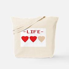 LIFE (hearts) - Tote Bag
