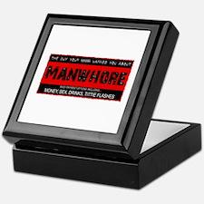 Mama Warned You Manwhore Keepsake Box