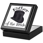 Top Hat Bride's Father Keepsake Box