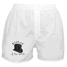 Top Hat Bride's Father Boxer Shorts