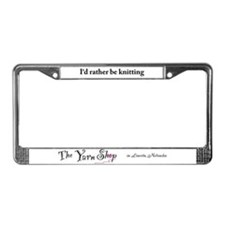 Cute Crochet License Plate Frame
