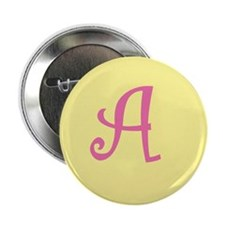 """Letter A 2.25"""" Button (100 pack)"""