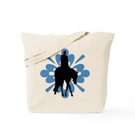 Hunter under saddle flower Tote Bag