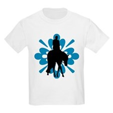 Hunter under saddle flower T-Shirt