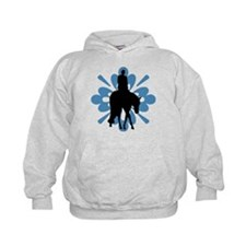 Hunter under saddle flower Hoodie