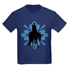Hunter under saddle flower T