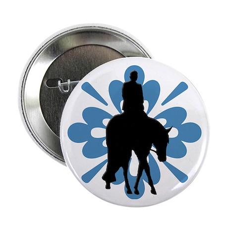 """Hunter under saddle flower 2.25"""" Button (10 pack)"""