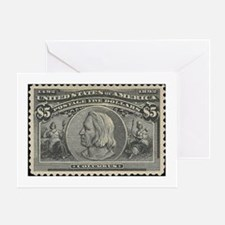Stamp collecting Greeting Card