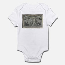 Funny Stamp collecting Infant Bodysuit