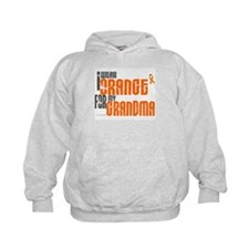 I Wear Orange For My Grandma 6 Hoodie