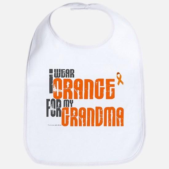 I Wear Orange For My Grandma 6 Bib