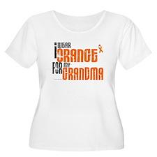 I Wear Orange For My Grandma 6 T-Shirt