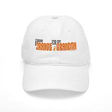 I Wear Orange For My Grandma 6 Cap