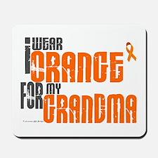 I Wear Orange For My Grandma 6 Mousepad